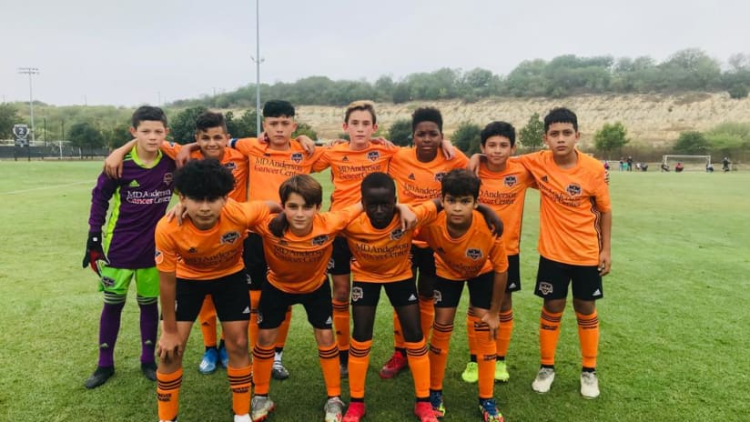 Dynamo Academy outscore opponents 24-5 over four games.