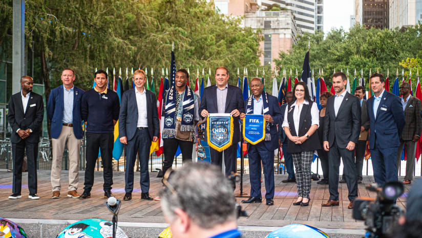 FIFA World Cup Selection Committee Visits Houston