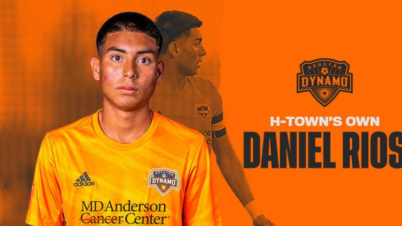 Danny Rios Signed DL no CTA
