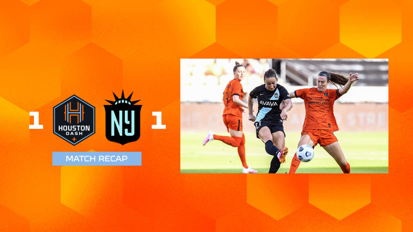 Houston Dash draw 1-1 with NJ/NY Gotham FC