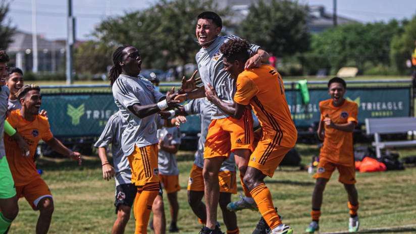 Dynamo Academy split Texas Derby this weekend at Houston Sports Park
