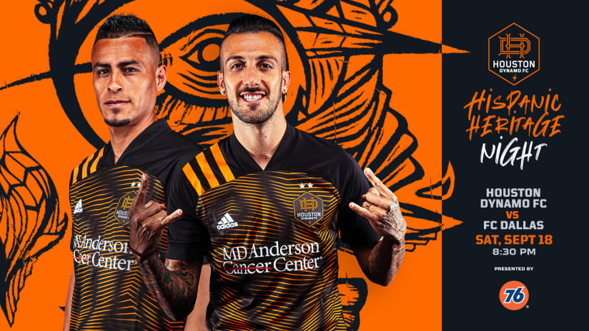 Houston Dynamo FC match against FC Dallas on Sept. 18 moved to 8:30 p.m. CT