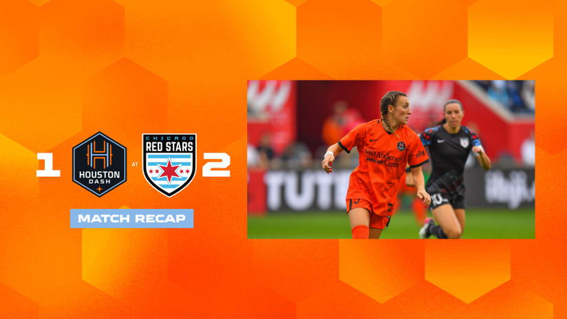 Houston Dash fall 2-1 to Chicago Red Stars