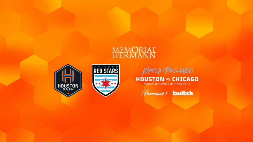 Houston Dash host Chicago Red Stars on Friday