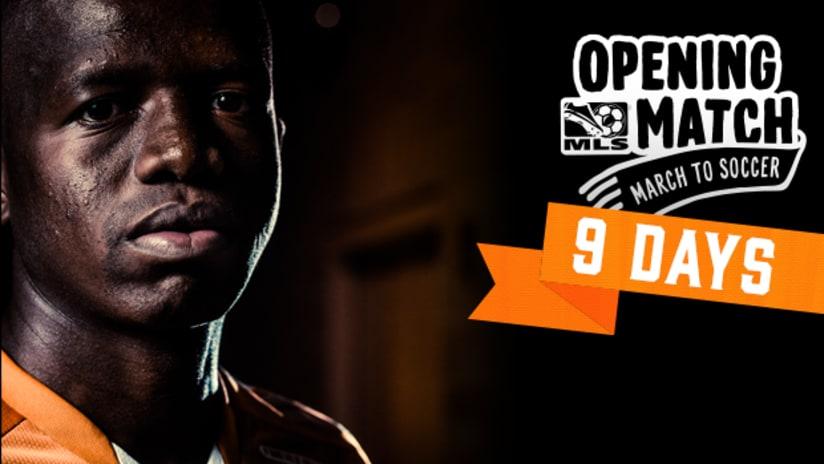 9 Days to Opening Day_Boniek Garcia