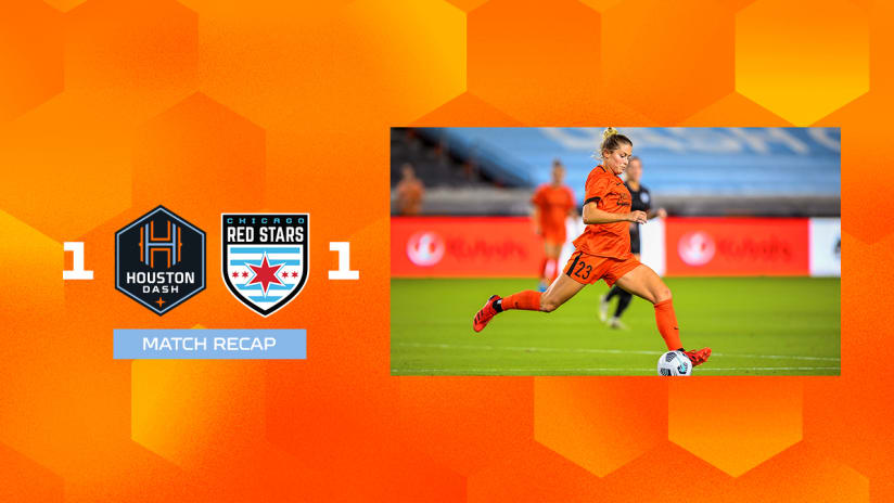 Houston Dash draw 1-1 with Chicago Red Stars