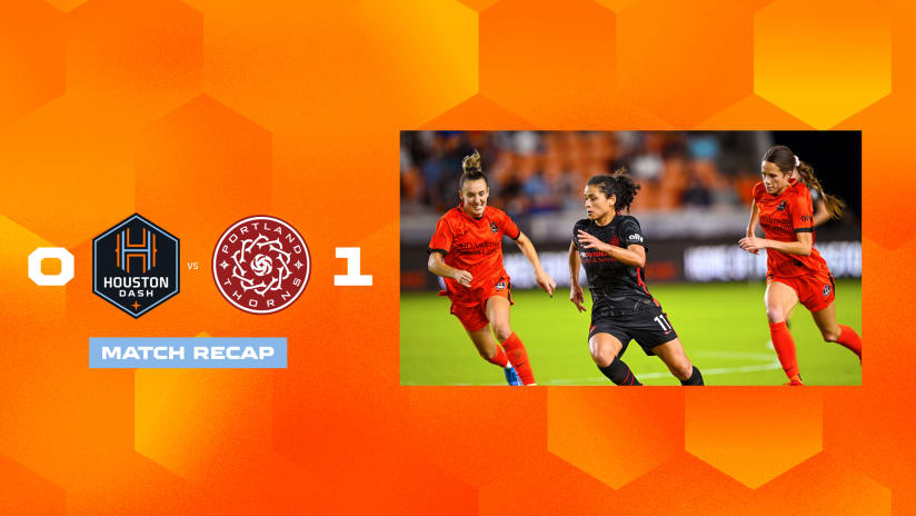 Dash fall in home finale 1-0 to Thorns