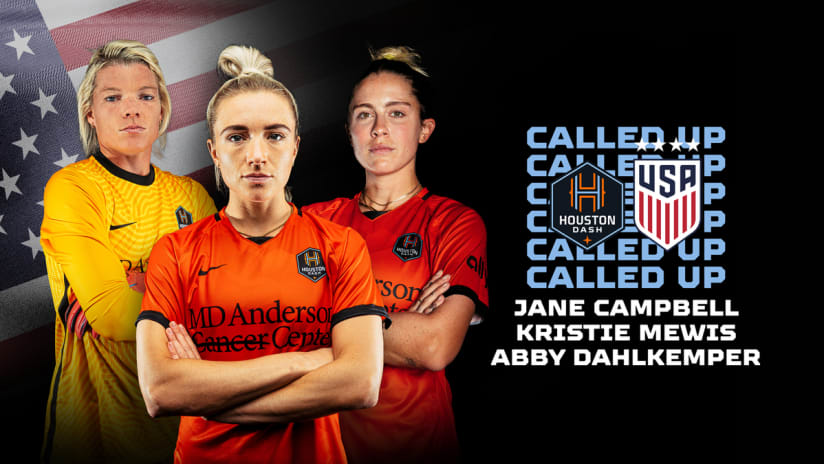 Three Houston Dash players named to USWNT roster for October friendlies