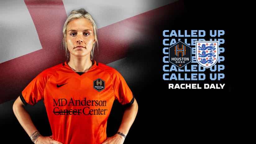 Forward Rachel Daly named to England roster for World Cup qualifying matches