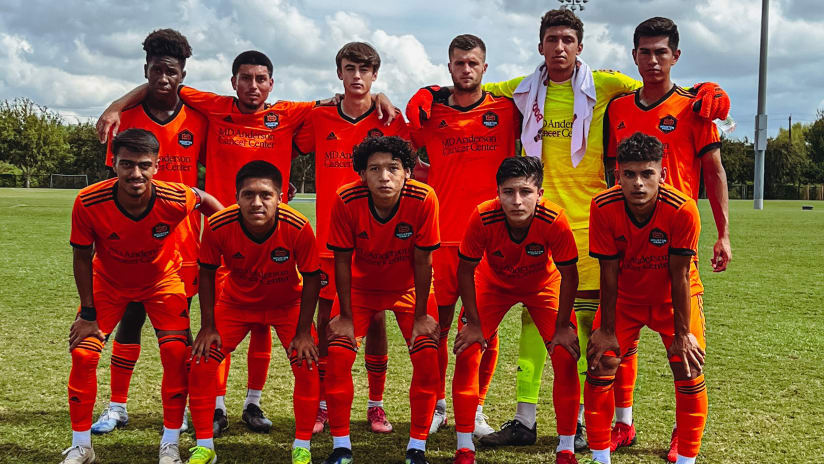 Dynamo U-23s draw 0-0 with FC Dallas, but positives abound