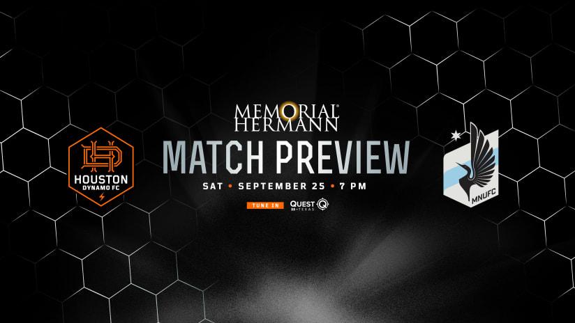THREE POINTS: Houston Dynamo FC travel north to face Minnesota United FC
