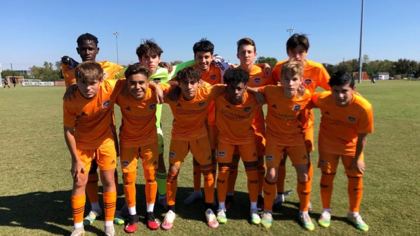 Dynamo Academy Split Series Prior to Bye Week