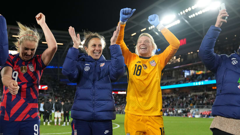 Houston Dash players close out International Duty on a high note