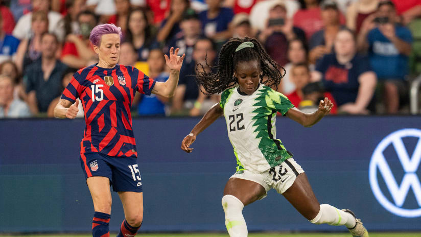 Dash FW Michelle Alozie named to Nigeria Women's National Team for summer camp