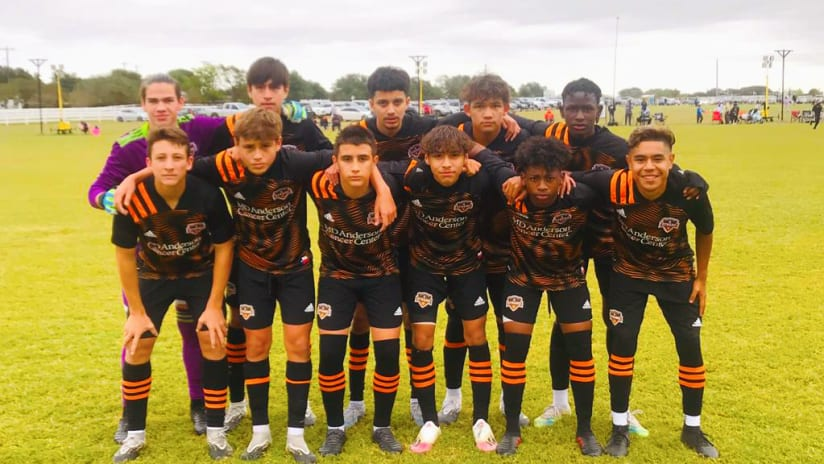 Houston Dynamo Academy win series in state capitol