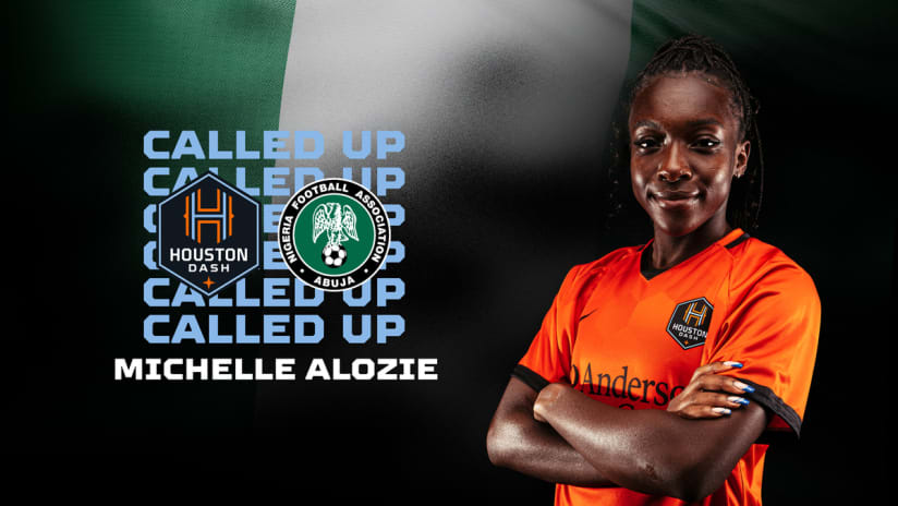 Forward Michelle Alozie named to Nigerian national team roster for Aisha Buhari Cup