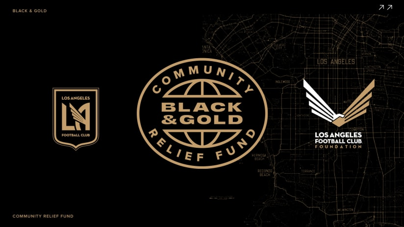LAFC & The LAFC Sports Foundation Launch Black & Gold Community Fund