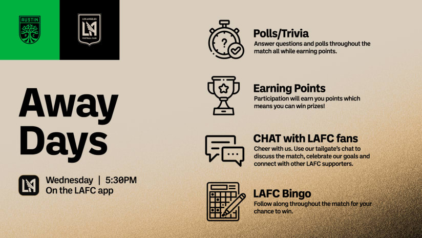 Virtual Tailgate | LAFC at Austin FC 9/15/21