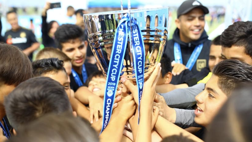 Academy Kicks Off Defense Of Manchester City Cup This Weekend