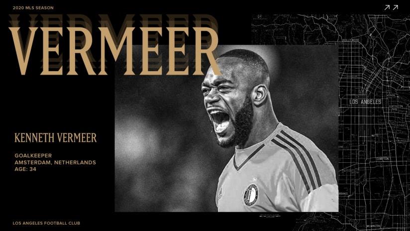 LAFC Acquires Dutch Goalkeeper Kenneth Vermeer