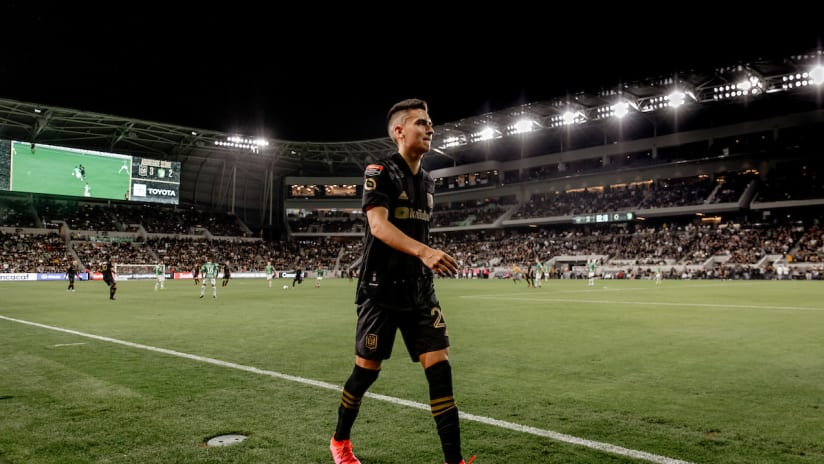 Eduard Atuesta Walking Off Field LAFC vs LEO 200227 IMG