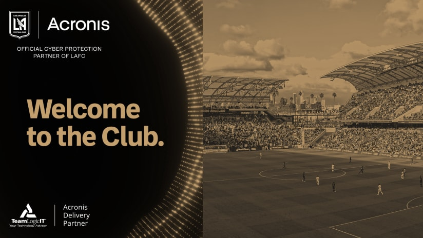 LAFC Partners With Global Cyber Protection Leader Acronis