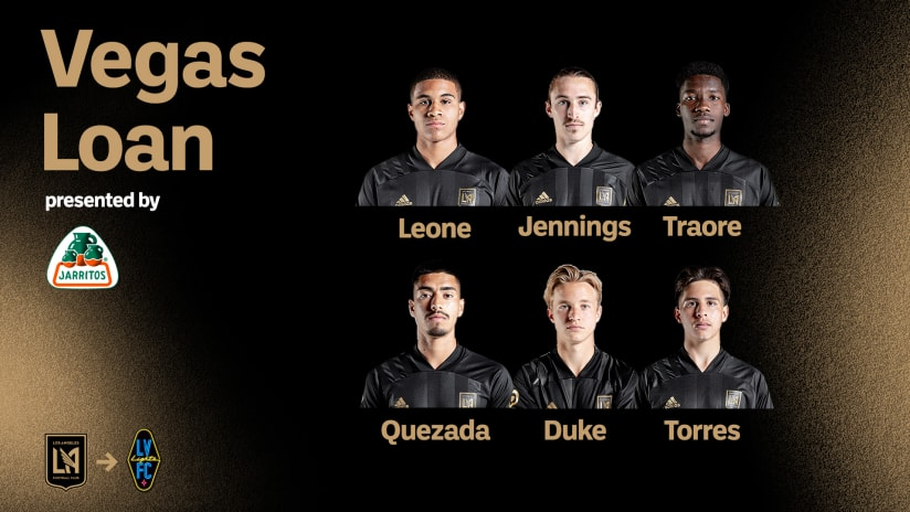 LAFC Loans Six Players To Las Vegas Lights FC For Upcoming Match Against Phoenix Rising FC - 5/22/21