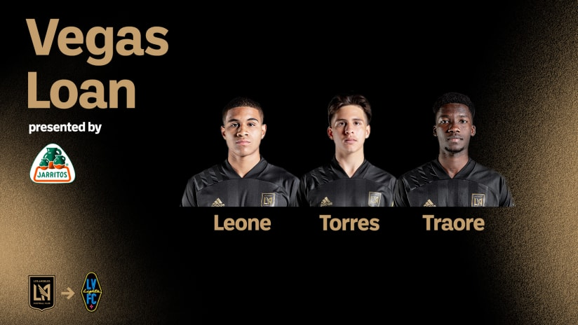 LAFC Loans Three Players To Las Vegas Lights FC For Upcoming Match Against San Diego Loyal SC