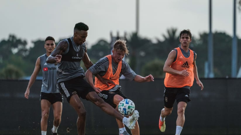 News & Notes From Training | New Routines - 7/8/20