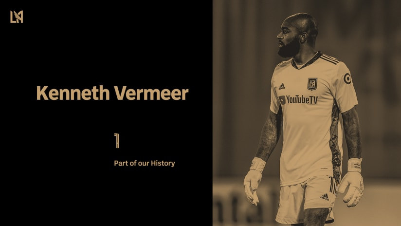 LAFC & Goalkeeper Kenneth Vermeer Mutually Agree To Part Ways