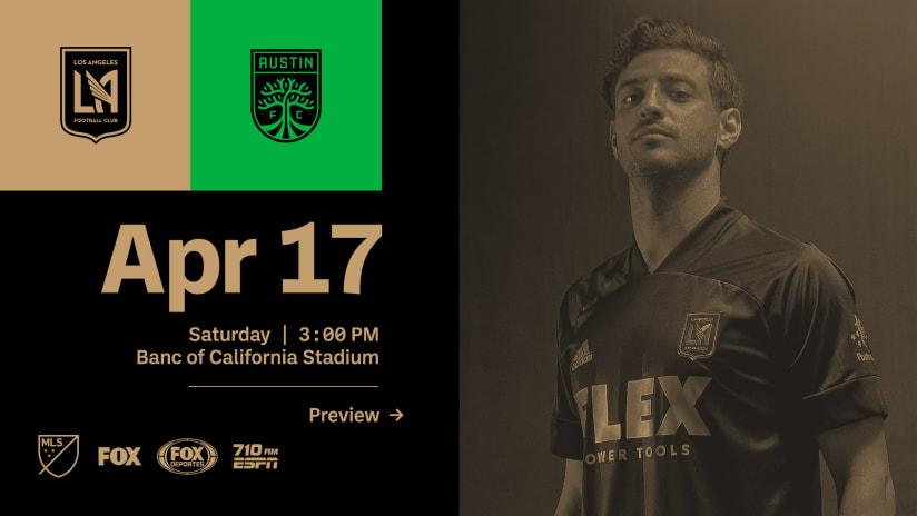 Preview | LAFC vs Austin FC - 4/17/21