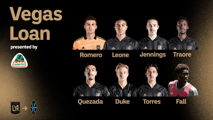 LAFC Loans Eight Players To Las Vegas Lights FC For Upcoming Match Against San Antonio FC