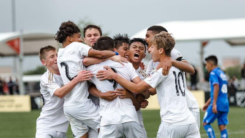 LAFC U15s Defeat Cruz Azul 1-0 In Opening Match Of Generation Adidas Cup