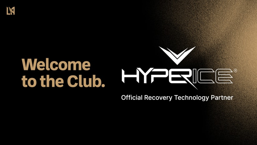 LAFC Announces New Partnership With Hyperice