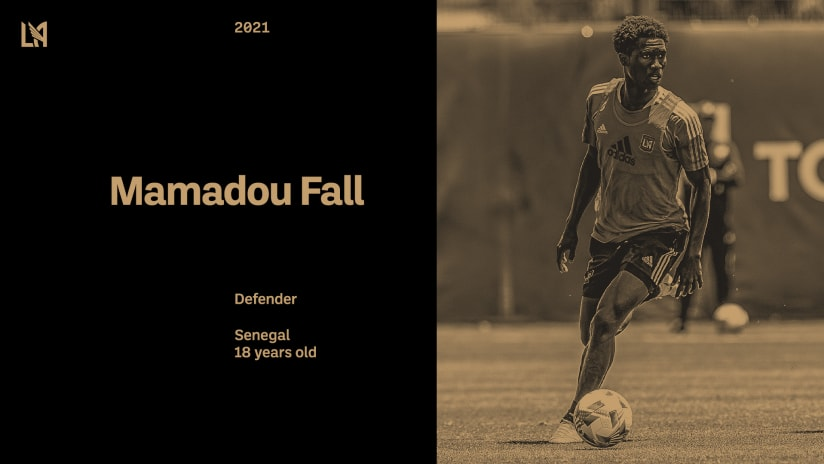 LAFC Signs 18-Year-Old Mamadou Fall