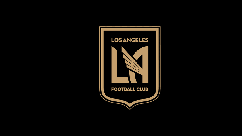 Default LAFC Logo On Black
