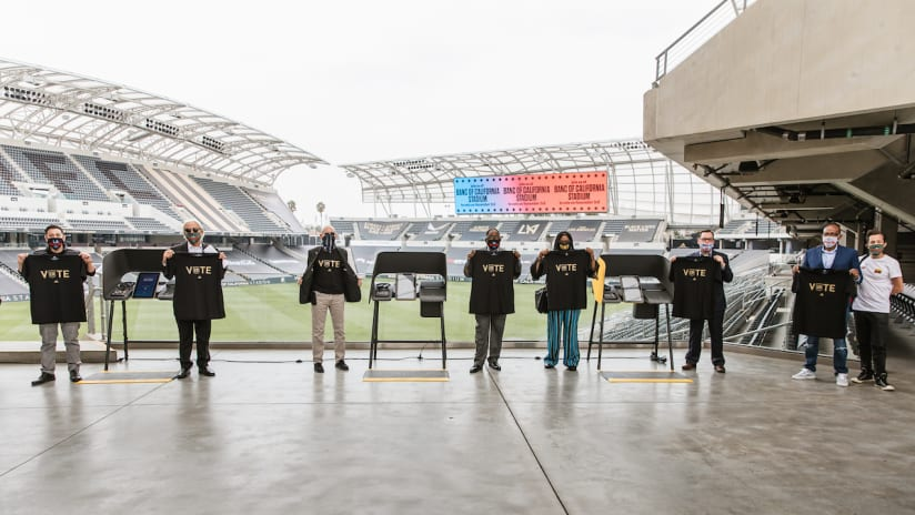 LAFC Joins Forces With Chef José Andrés' World Central Kitchen To Feed Voters & Volunteers At Banc Of California Stadium