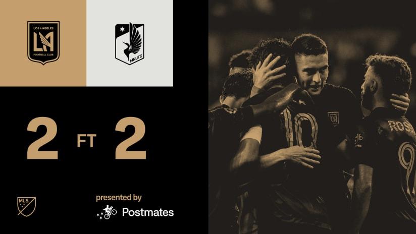 MLS Recap | LAFC 2-2 Minnesota United 7/28/21