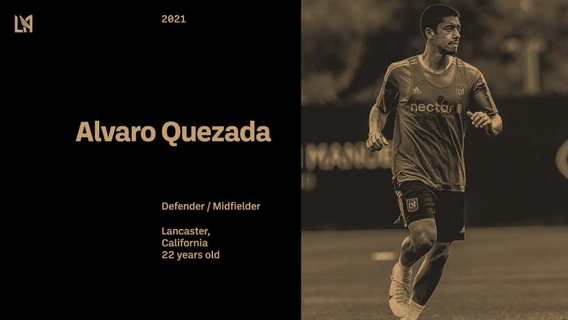 LAFC Signs Southern California Native Alvaro Quezada
