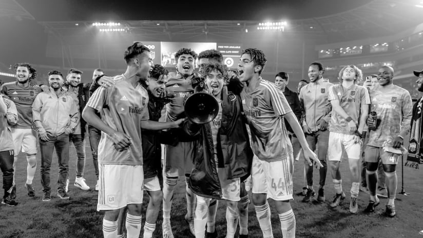 A Day In Photos | A Dream In Progress With LAFC Academy Player Diego Rosales
