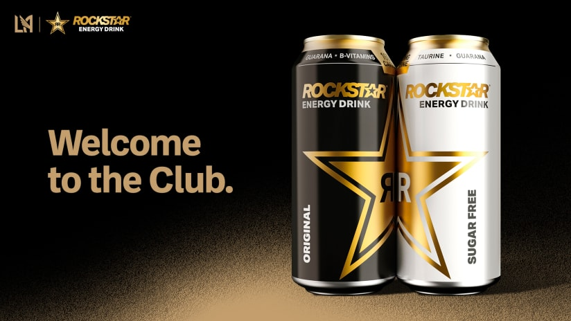 LAFC Inks New Partnership With Rockstar® Energy Drink