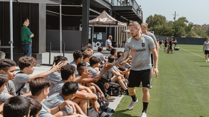 Jordan Harvey Passes Along Advice To Young Players In LAFC Academy Q&A
