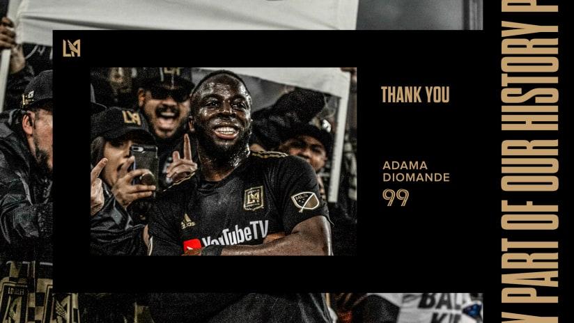 LAFC & Forward Adama Diomande Mutually Agree To Part Ways