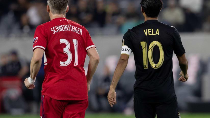 Carlos Vela And Bastien Schweinsteiger Together At Banc 190504 IMG