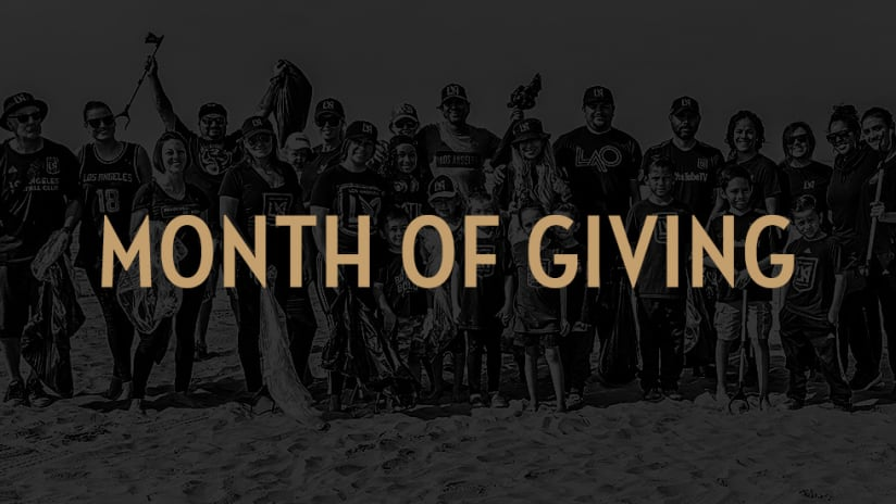 LAFC Kicks Off Its Annual July 'Month Of Giving'