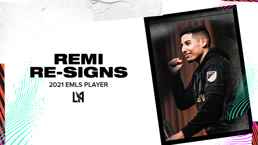 "LAFC Re-Signs eMLS Player Martin ""RemiMartinn"" Oregel"