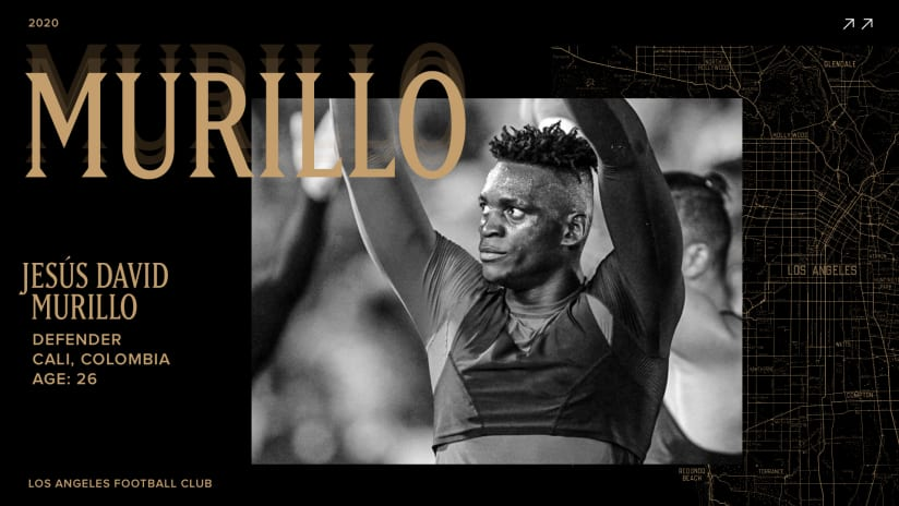 LAFC Acquires 26-Year-Old Defender Jesús David Murillo On Loan