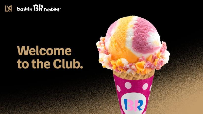 LAFC Teams Up With Baskin-Robbins