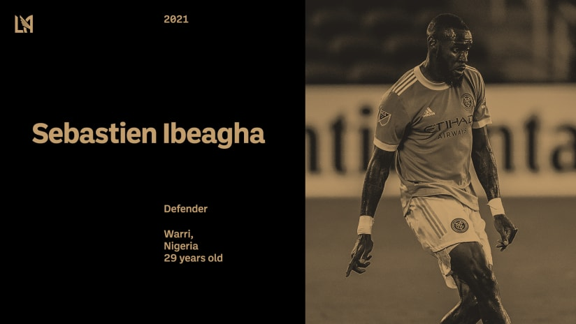 LAFC Acquires Defender Sebastien Ibeagha From NYCFC