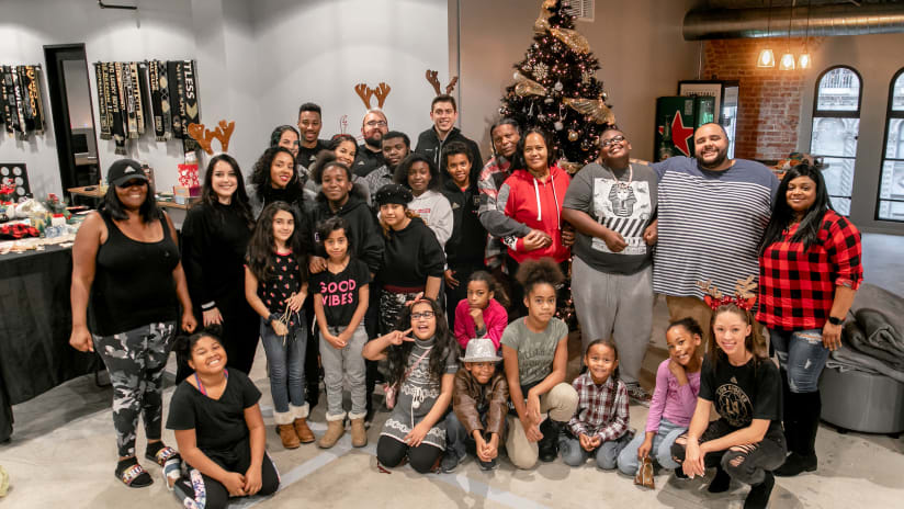 LAFC Continues To Be A Force For Good In Los Angeles Throughout The 2019 Holiday Season